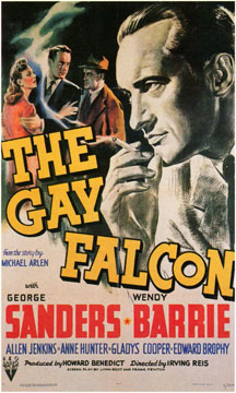 The Gay Falcon movie poster