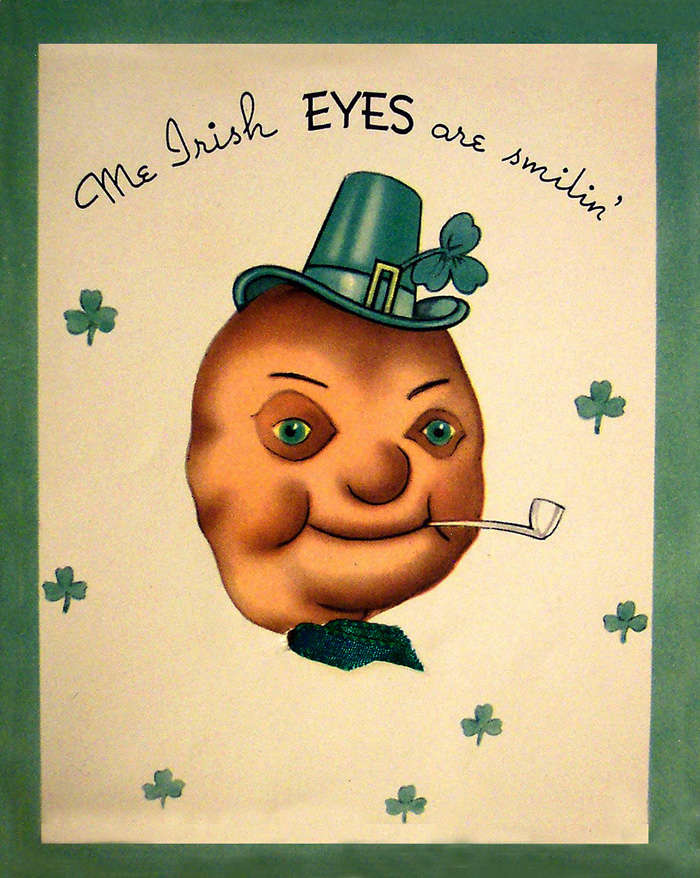 Vintage St. Patrick's Day greeting card