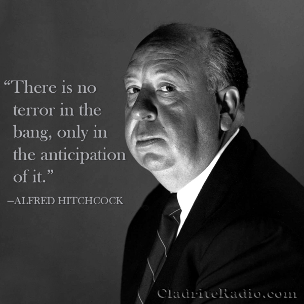 Alfred Hitchcock quote