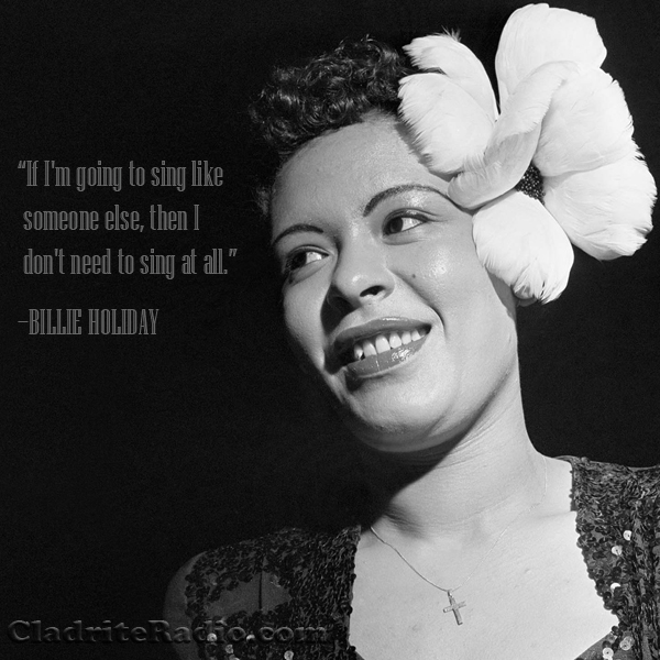 Billie Holiday quote