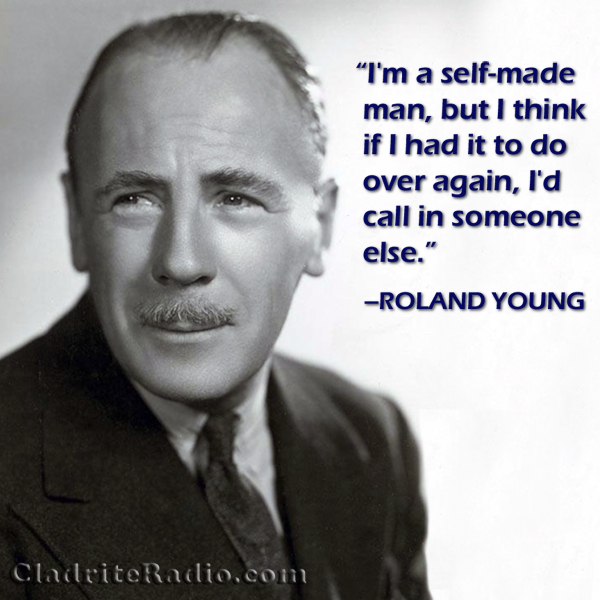 Roland Young quote