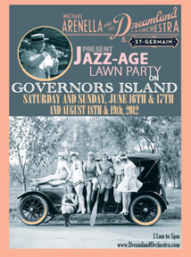 A poster for the Jazz Age Lawn Party
