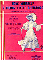 Sheet music--Have Yourself a Merry Little Christmas