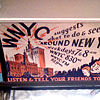 Vintage WNYC-AM advertisement