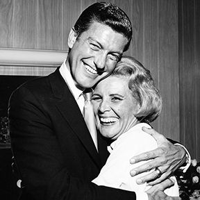 Rose Marie with Dick Van Dyke