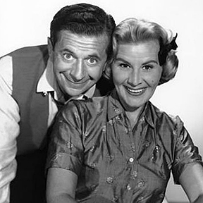 Rose Marie with Morey Amsterdam