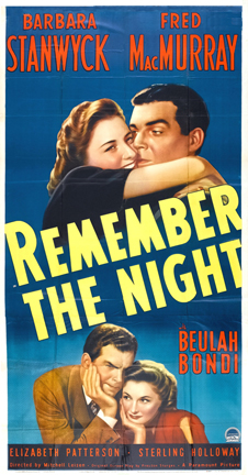 image-Remember the Night poster